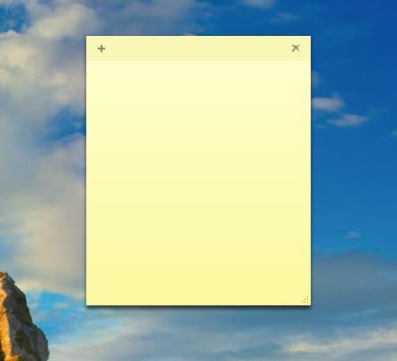 Windows桌面便签